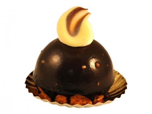 Chocolade bavaroise gebakje