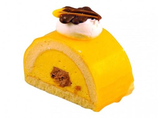 Mango bavaroise gebakje